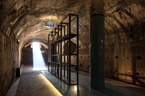 Fabio Fornasari — Allestimento permanente degli elementi architettonici delle Terme di Caracalla