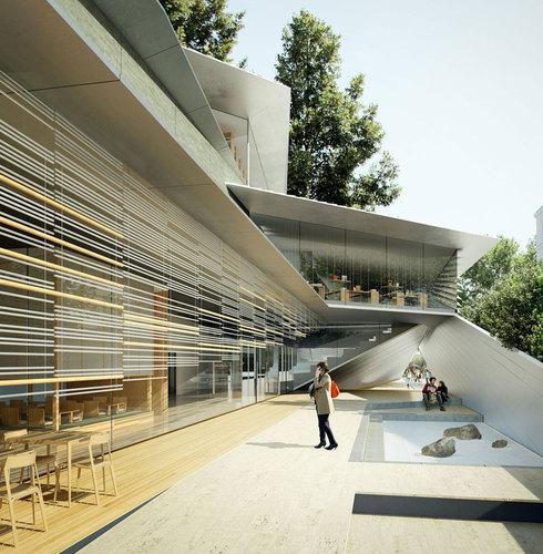 Kengo Kuma & Associates — Albert Kahn – Musée et Jardins