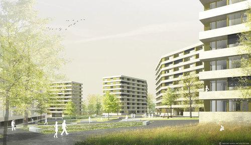 Timothée Giorgis — Evolution urbaine du perimetre Vieusseux - Villars – Franchises. Genève