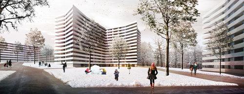 LRS Architectes — Evolution urbaine du perimetre Vieusseux - Villars – Franchises. Genève