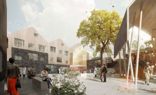 3RW Architects, NORD Architects, NODE Rådgivende Ingeniører — New Vardheim