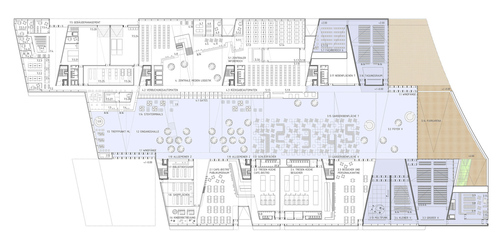 ENVES Arquitectos — New Central Library in Tempelhof-Schöneberg. Berlin
