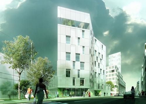 Philippe Dubus Architectes — Résidence sociale de 66 logements à Clichy