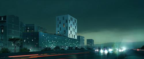 Philippe Dubus Architectes — Résidence sociale de 134 logements à Clichy