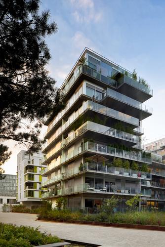 philippe dubus architectes 73 logements boulogne billancourt divisare by europaconcorsi. Black Bedroom Furniture Sets. Home Design Ideas