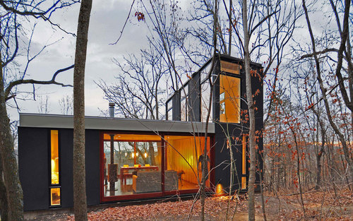 Johnsen Schmaling Architects — Stacked Cabin