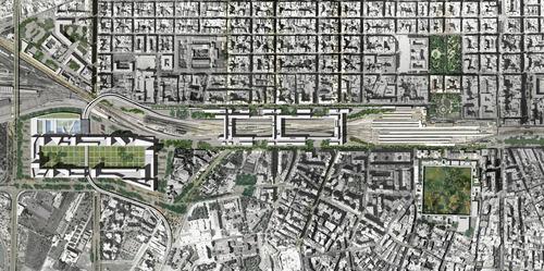 Francesco Cellini, Insula Architettura e Ingegneria S.r.l., Stefano Serpenti, Federico Desideri — Baricentrale: idee per le aree ferroviarie