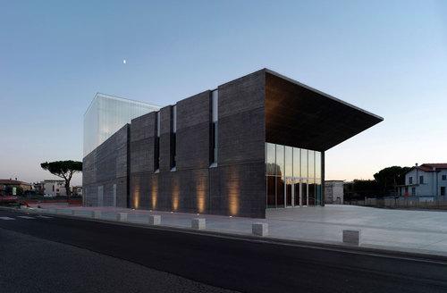 mdu Architetti — New Theatre in Montalto di Castro