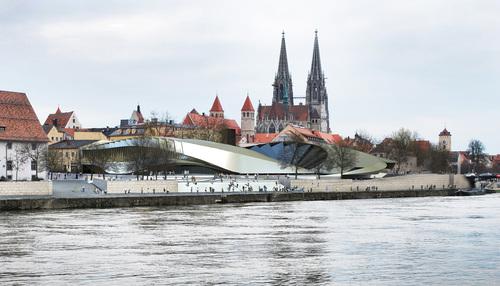 LUCA POIAN FORMS, Archest , Ingenieurbuero Naser Vafai — Nuovo Museo di Storia della Baviera a Regensburg