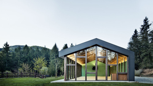 MIRAG Millet Ramoneda — Multifunctional pavillion in Viladrau