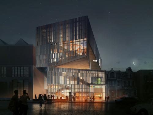 Manon Asselin Architecte, Jodoin Lamarre Pratte — MMFA's Fifth Pavilion