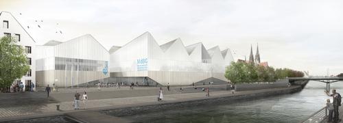 Zamboni associati architettura, Looc-m architekten — Nuovo Museo di Storia della Baviera a Regensburg
