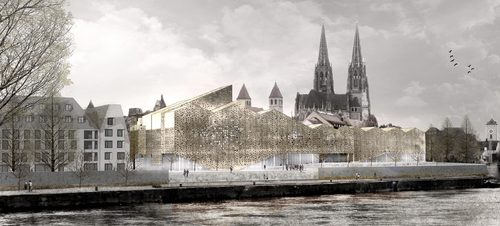 X+UN Architecture — New Museum of Bavarian History in Regensburg