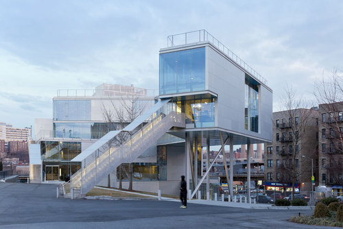 Steven Holl Architects — Campbell Sports Center