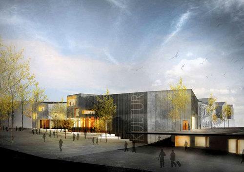 Lundgaard & Tranberg Arkitekter — Køge Kulturhus