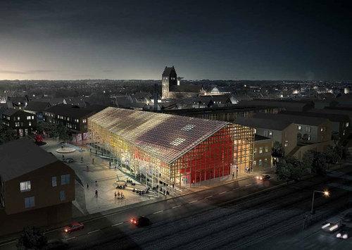 COBE — Køge Kulturhus