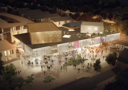 NORD Architects, Effekt, COWI, MASU PLANNING — Køge Kulturhus