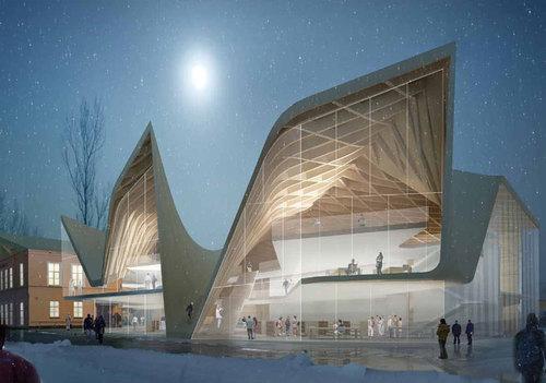 DILLER SCOFIDIO + RENFRO — Køge Kulturhus