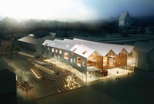 Dorte Mandrup Arkitekter — Køge Kulturhus