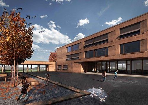 Baumgartner & Neuenschwander — Neubau Schulhaus Seegarten, Arbon