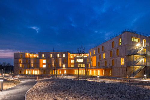 VOUS ETES ICI Architectes — Ehpad Morangis