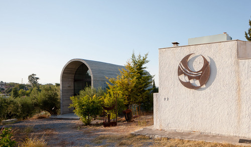 A31 Architecture — Art Warehouse in Boeotia