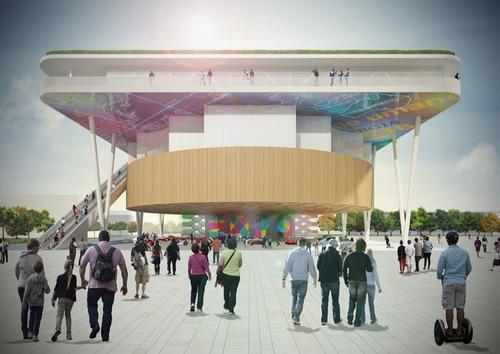 Andrea Maffei Architects , Ramboll Whitbybird, Techproject S.r.l. — Padiglione Italia Expo 2015