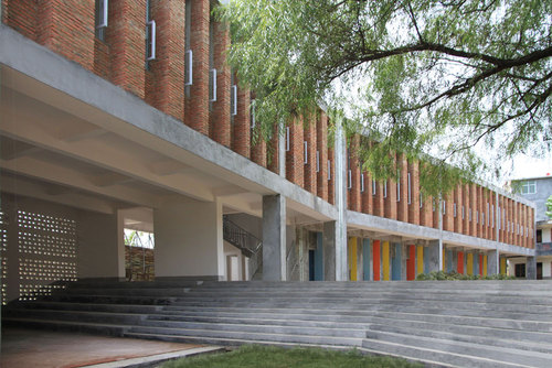 Rural Urban Framework, Joshua Bolchover, John Lin — Tongjiang Recycled Brick School
