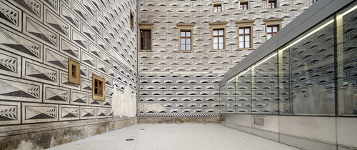 mateo arquitectura — Prague National Gallery Entrance Hall