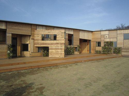 Kengo Kuma & Associates — Kids Academy Taiyogaoka Hoikuen