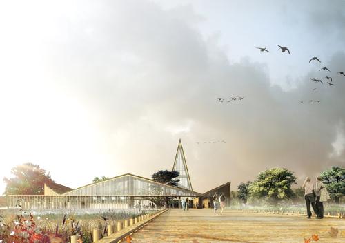 Nuno Fontarra — The Great Fen Visitor Center