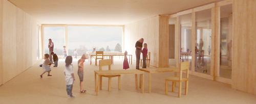 Liverani-Molteni — Nuovo edificio scolastico per Arbon