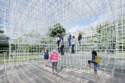 Sou Fujimoto Architects — Serpentine Gallery Pavilion 2013
