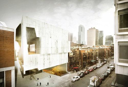 Saucier + Perrotte Architectes — Musée des beaux-arts de Montréal – Pavillon 5