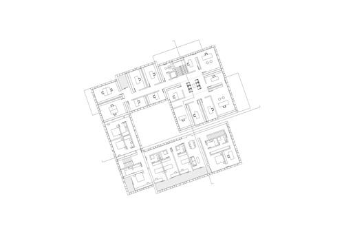 Cn10 gianluca gelmini architetto matteo maggioni la for Piani a pianta aperta