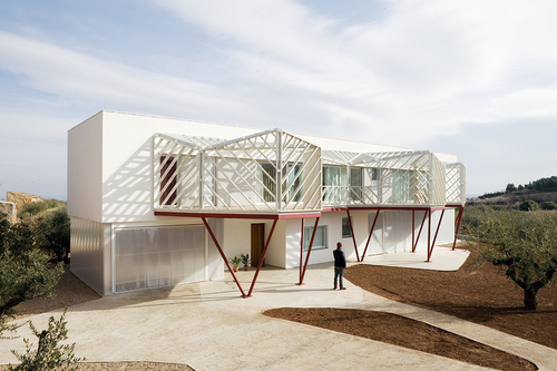 Langarita-Navarro Arquitectos — Double house