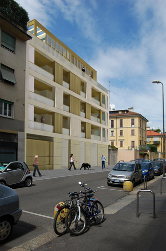 ES arch enricoscaramelliniarchitetto   — Residenza AG3