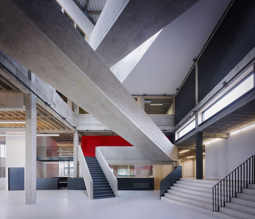AVDK Architecten Vande Kerckhove — The Level. Howest University College