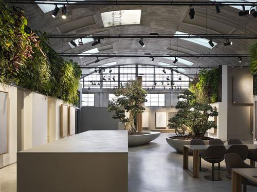 Alessandro Bucci Architetti — Sala mostra Cooperativa Ceramica d'Imola, FASE I