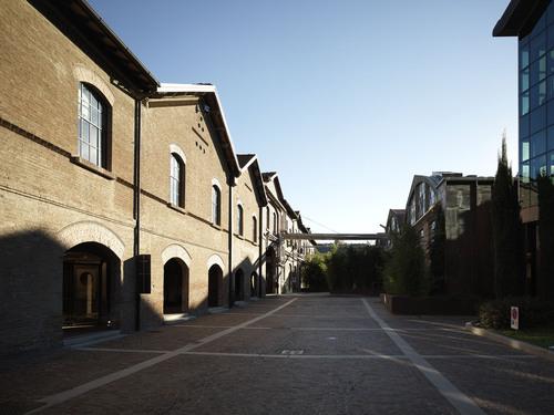 Alessandro Bucci Architetti — Sala mostra Cooperativa Ceramica d'Imola, FASE III