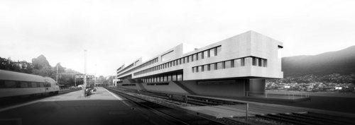 Cruz y Ortiz Arquitectos, Giraudi Radczuweit Architetti — Campus universitario Supsi