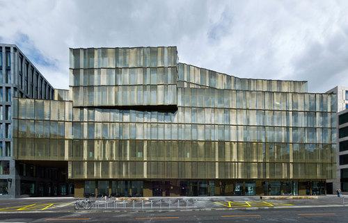 Gigon / Guyer Architekten — EUROPAALLEE 21. Lagerstrasse House