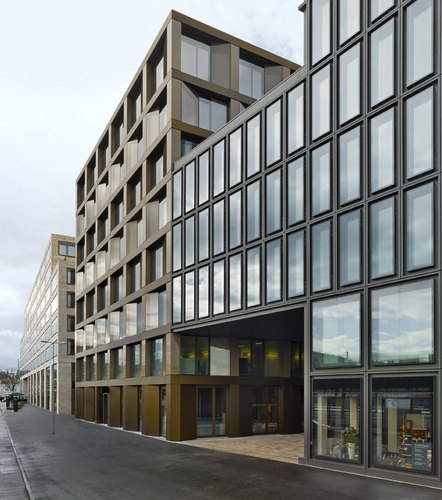 David Chipperfield Architects — EUROPAALLEE 21. Freischützgasse House