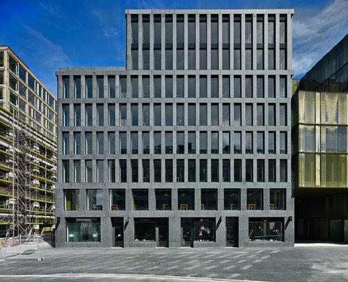 Max Dudler Architekt — EUROPAALLEE 21. Eisgasse House