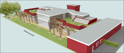 tecneas - INTEGRATED BUILDING DESIGN — Scuola materna a Dolzago