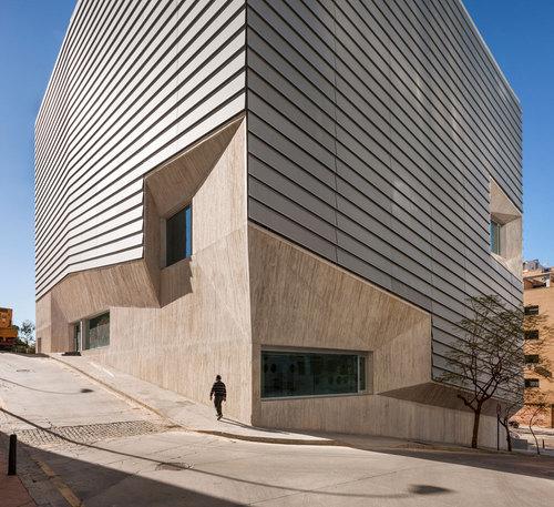 Paredes Pedrosa Arquitectos — Public Library in Ceuta