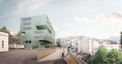 Bruno Fioretti Marquez Architekten — Nuovo campus della Scuola Universitaria Professionale della Svizzera Italiana