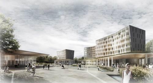 Andrea Baresi, studiobaresi architetti, davide ravasio, ugo gorgone — Riconversione del sito industriale della Mazzoleni di via Marconi. Seriate