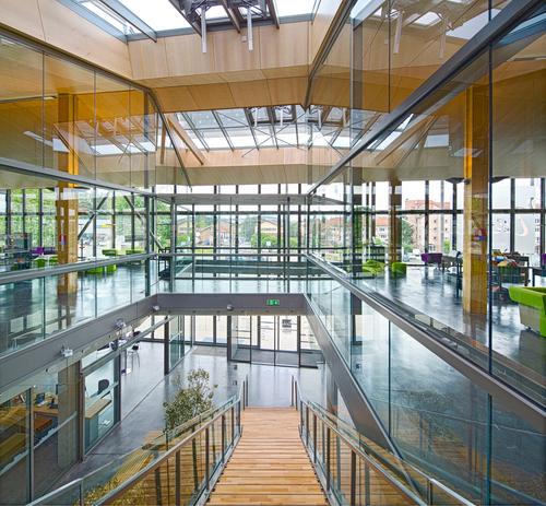 Gautier+Conquet Architectes — Médiathèque Saint-Just Saint-Rambert