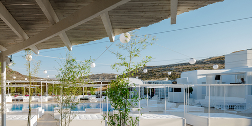 LoT office for architecture — GUILTY BEACH, MYKONOS